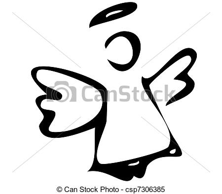 Angel clipart vector 24 EPS  Clip Vectorby