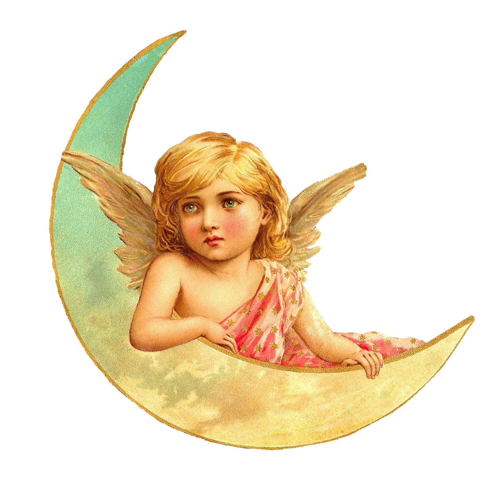 Angel clipart victorian angel #12