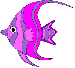 Angelfish clipart orange things Angel fish free clipart free