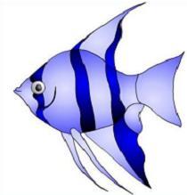Angelfish clipart beautiful fish Clipart fish Angel Angel Free