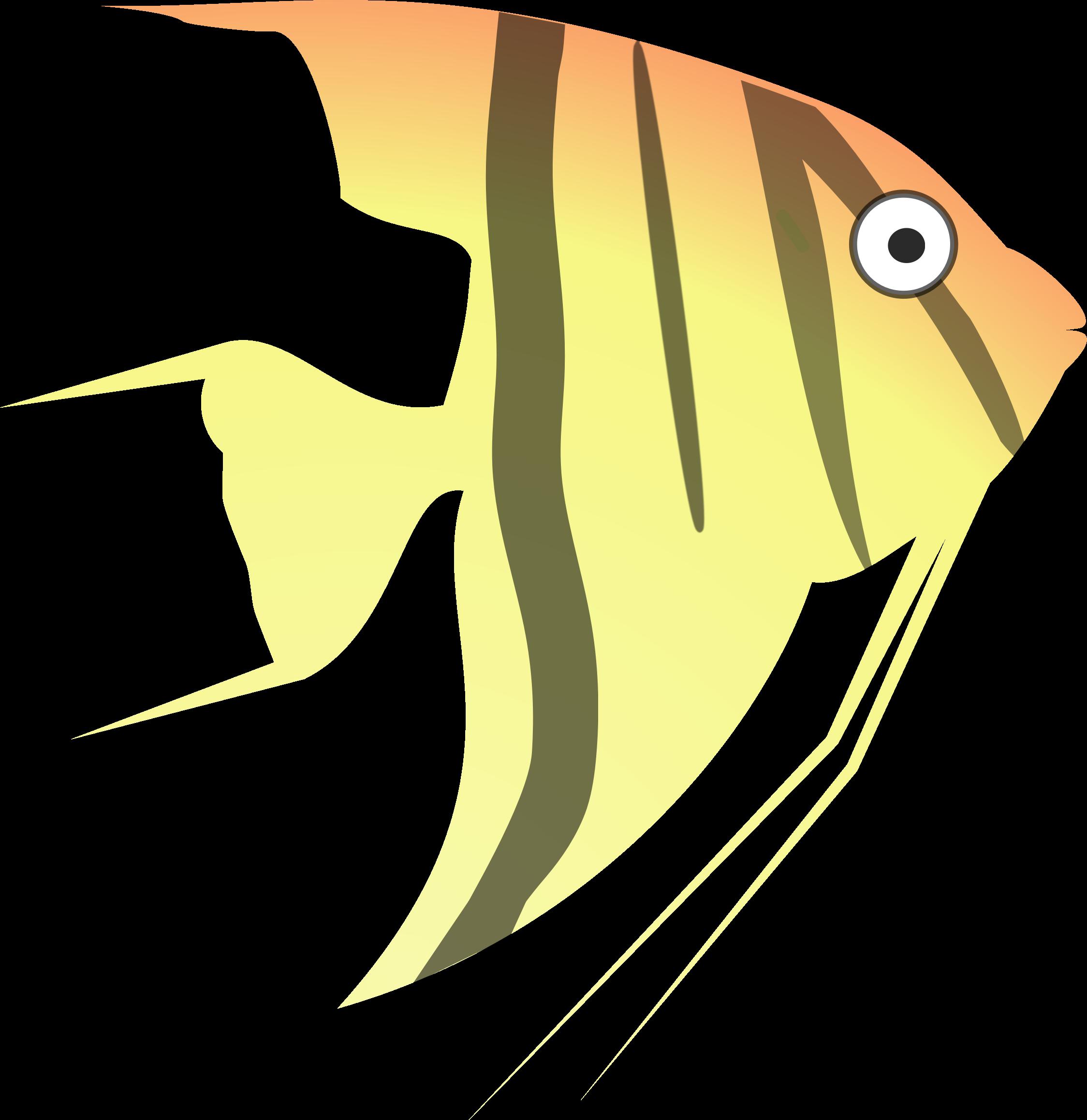 Angelfish clipart cartoon Angel cartoon Clipart fish cartoon