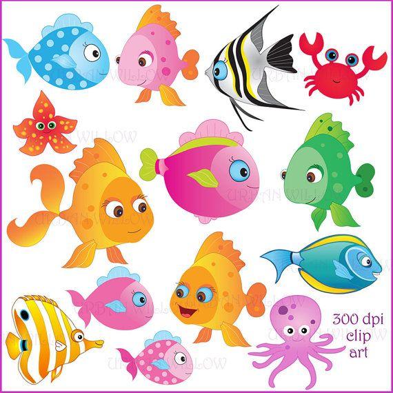 Angelfish clipart colourful fish Best OK art  Fish
