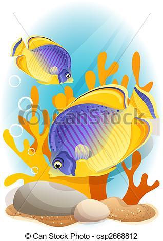 Angelfish clipart little fish Angelfish angelfish csp1518131 black angelfish