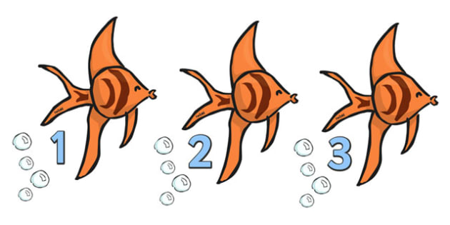 Angelfish clipart orange things Numbers Angel sea Under Fish