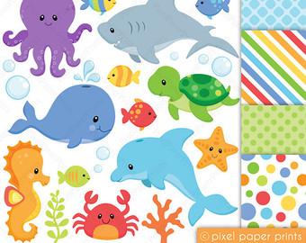 Angelfish clipart sea creature And NEUTRALS art Clip paper