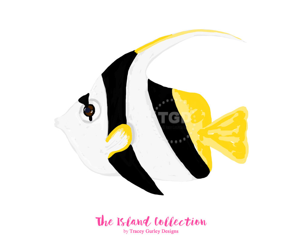 Angelfish clipart tropical fish Clipart clip  tropical Angel