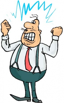 Anger clipart angry teacher And Health clipart management Anger