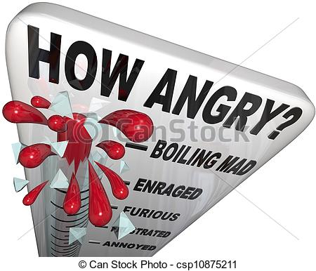 Anger clipart angry teacher Anger Measure  Angry Man