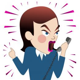 People clipart angry Phone Angry Art on Clip