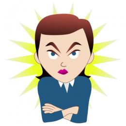 Anger clipart People Angry anger Seething Art