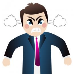 Emotional clipart unhappy person Angry Options More People Clip