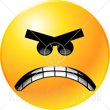 Anger clipart angry smiley > Pix For >