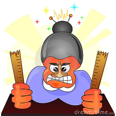 Anger clipart angry teacher Clipart angry angry Teacher clipart