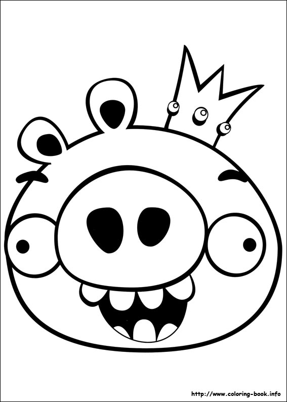 Anger clipart angry manager Angry Angry Bird Coloring Pages