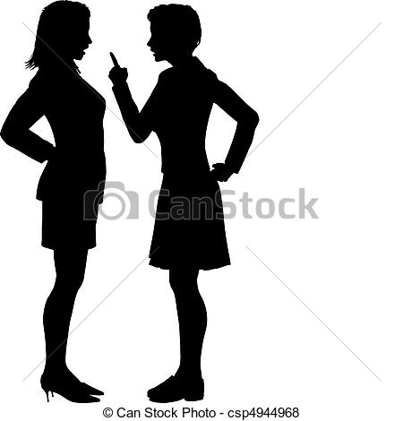 Anger clipart disagreement Fight Two of disagree