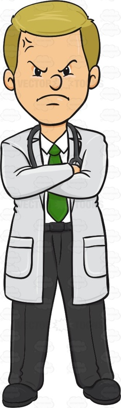 Anger clipart frown A Doctor On Frown #doctor