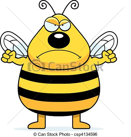 Anger clipart frown Clip and Art bee Angry