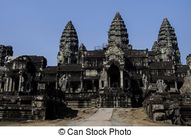 Angkor Wat clipart Picture over of Wat Angkor