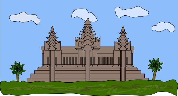 Angkor Wat clipart Art Download Cambodia Cambodia Clip