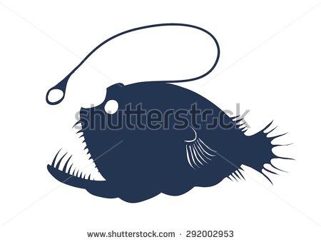Anglerfish clipart Fish & Stock Clip Angler