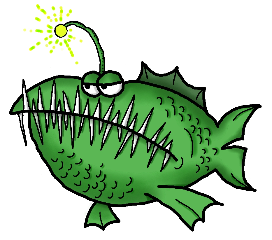 Anglerfish clipart Clipart drawings #8 clipart Anglerfish