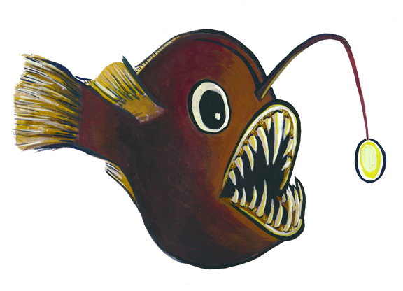 Anglerfish clipart Fish photo#1 clip Fish Angler