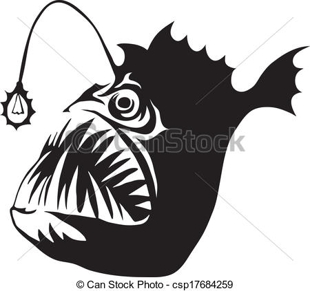 Anglerfish clipart Clipart drawings #7 clipart Anglerfish