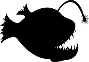 Anglerfish clipart Clipart drawings #19 clipart Anglerfish