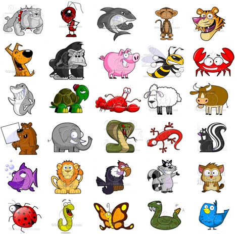 Animl clipart Animal Animals Cartoon Cartoon Animal