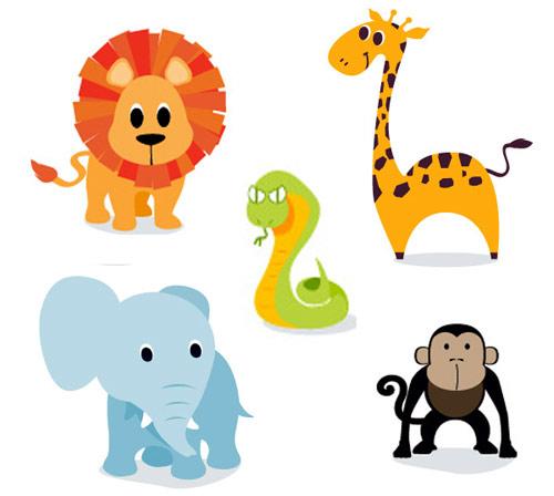 Wildlife clipart cartoon Clipartfest art com clipart animals