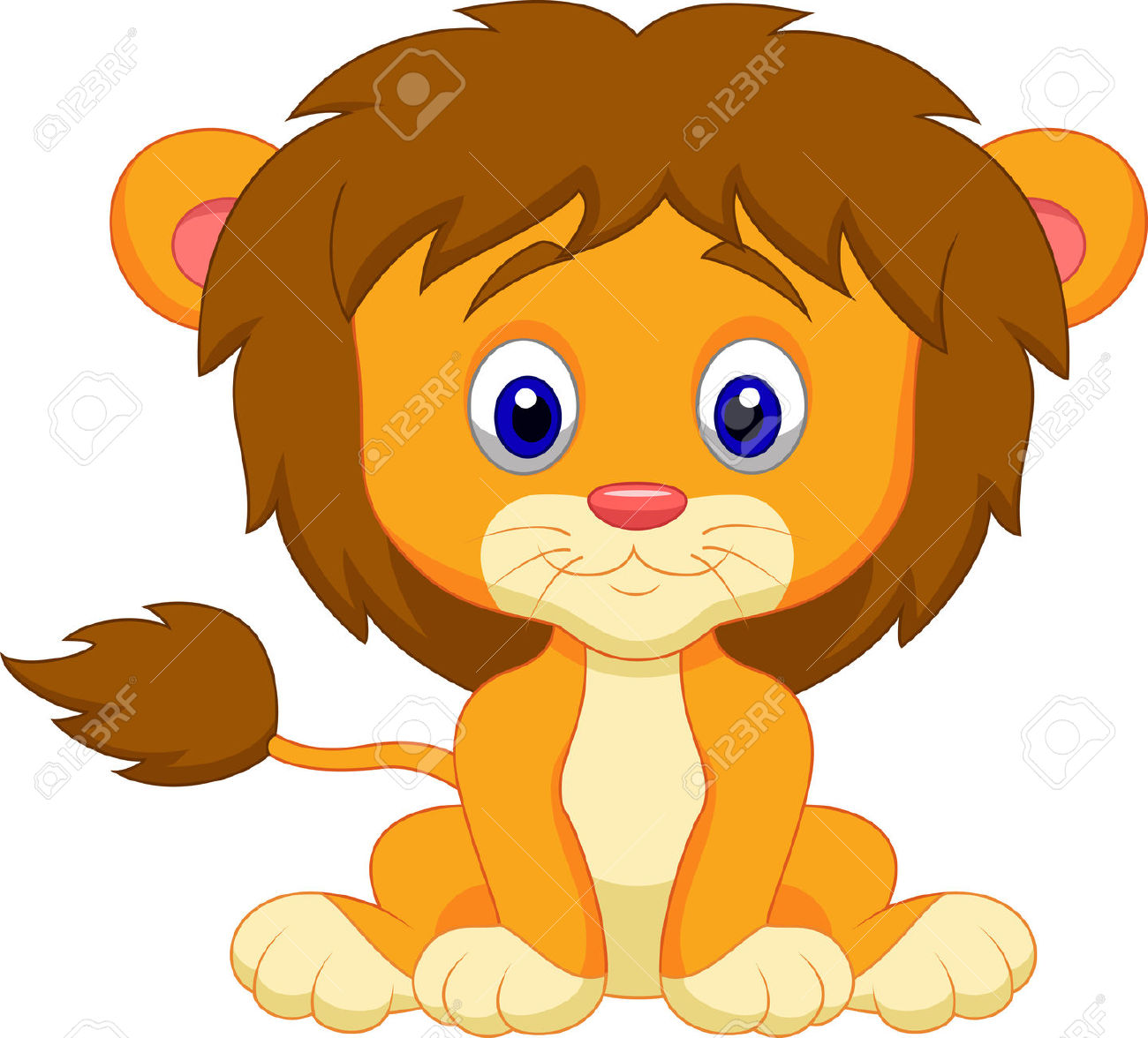Animal clipart baby lion Lion animal clipart animal lion