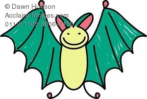 Animl clipart bat · Images bat animal stock