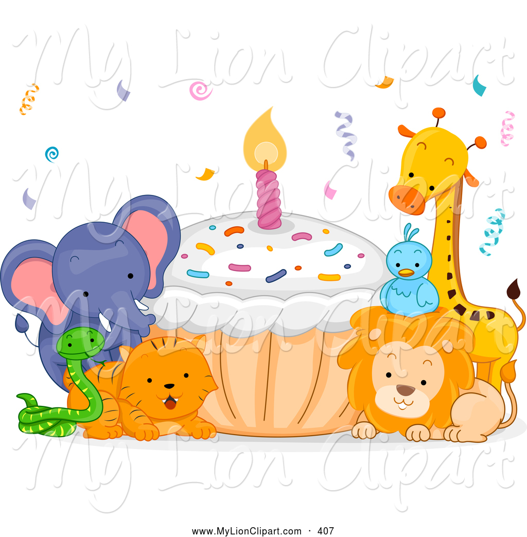 Animal clipart birthday Lion Lion Clipart Animal Designs