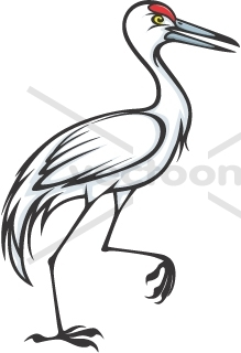 Animal clipart crane Crane Animal clipart crane clipart