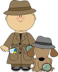 Animal clipart detective Animal Clip Download clipart Clip