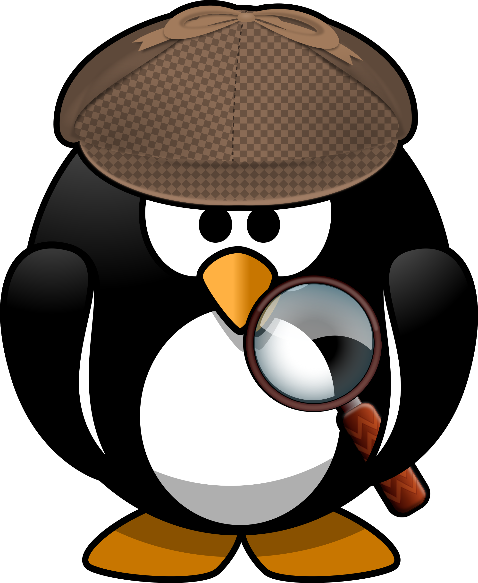 Animal clipart detective Clipart Animal Detective Detective Animal