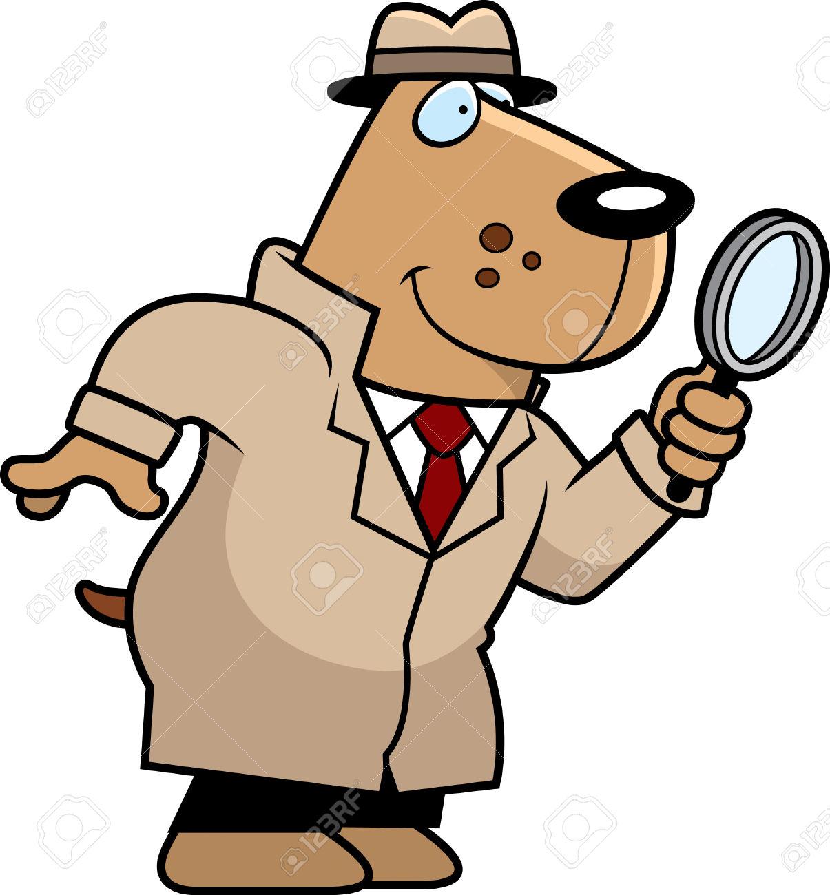 Animal clipart detective Clipart ClipartFest detetive detective Dog