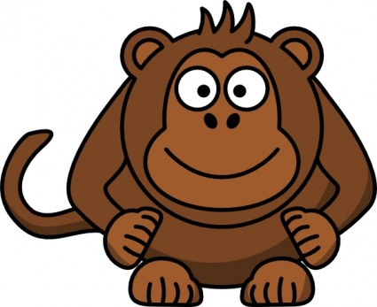 Baboon clipart cute For Art Free Clipart monkey%20clipart