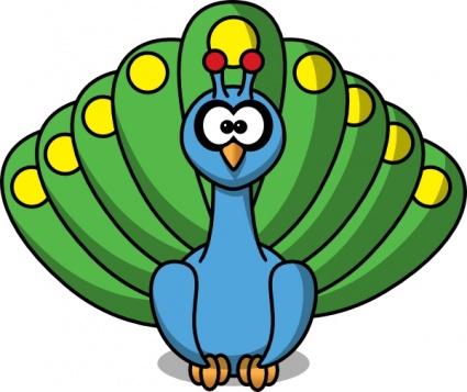 Animl clipart peacock Clip Art Download vectors free