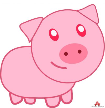 Animl clipart pork Of Pig Catoon with keywords