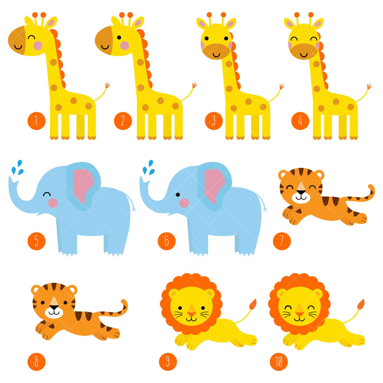 Animal clipart printable A Safari This is Art