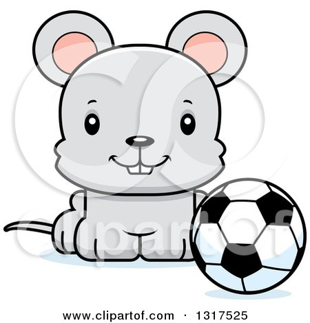 Animal clipart soccer A Animal of soccer and
