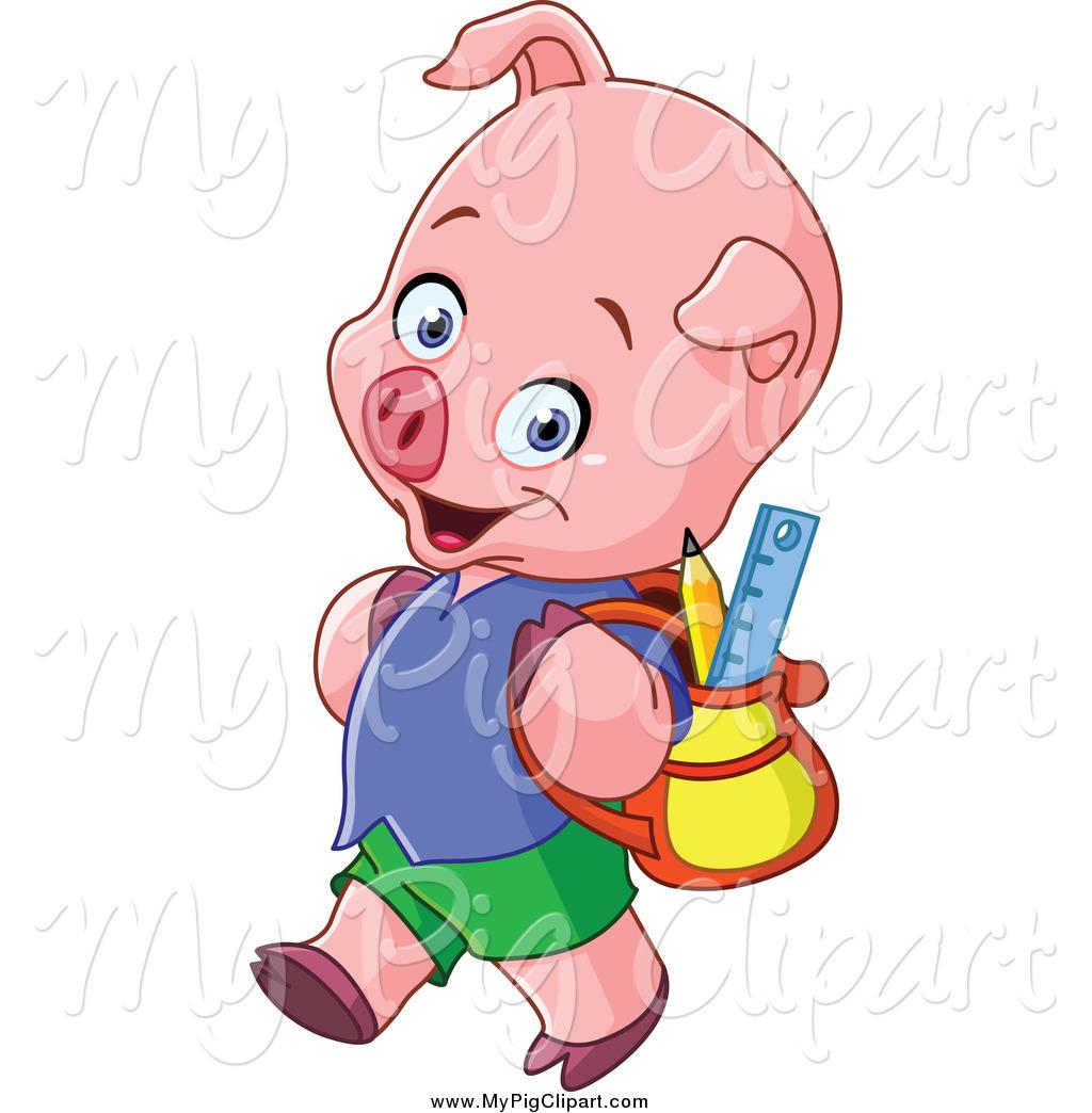 Animl clipart student Pig Animal Pig Free Royalty