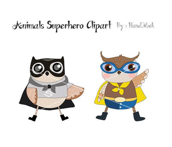 Animal clipart superhero Animals file is digital superhero