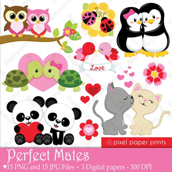 Animal clipart valentine Animal clipart clipart animal Valentine