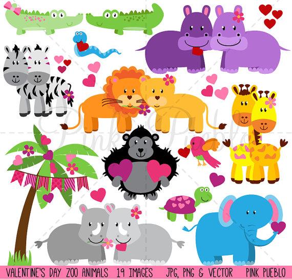 Animal clipart valentine Animals this Art Clip Day