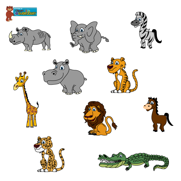 Baby Animal clipart wild animal Free Clip Clipart Clipart on