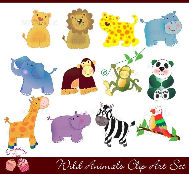 Animal clipart wilderness Animal clipart Wilderness clipart animal