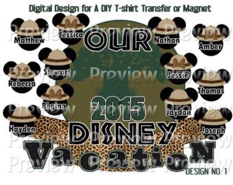 Animal Kingdom clipart animal care Mouse Shirt On Safari Heads