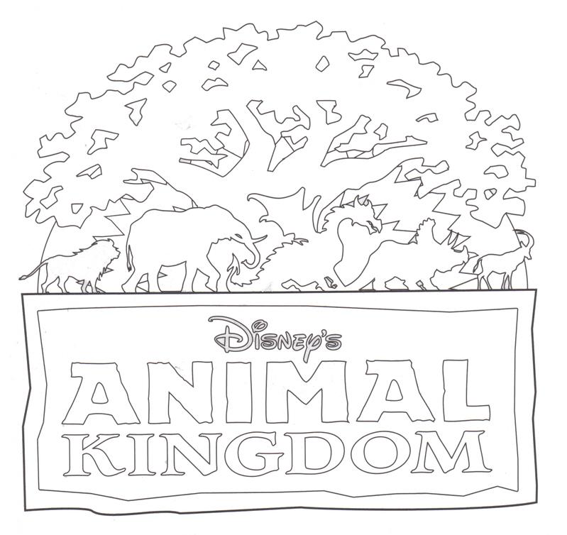Animal Kingdom clipart black and white #5